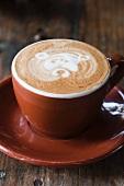 An Artisan Barista made Cappuccino