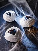 Mumien-Muffins für Halloween