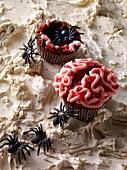 Brain muffins for Halloween
