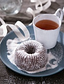 Honey cake and tea (Christmas)