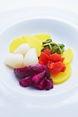 Various Japanese Pickled Vegetables