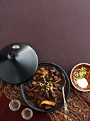 Lamb tagine (seen from above)