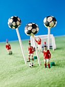 Cake Pops in Fussball-Look