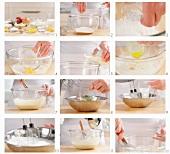 Pfannkuchenteig zubereiten