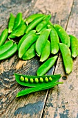 Young peas