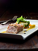 Meat terrine with parsley