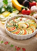 Ratatouille vegetable bake