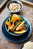 Fried vegetable chips