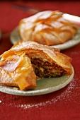 Pastilla (Moroccan chicken pie)