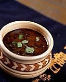 Tamatter Dhania Ka Shorba (tomato and coriander consommé, India)