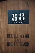 Herdade do Mouchao, Barrel 58 with writting