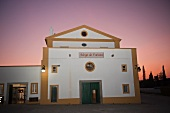 Fundacao Eugenio de Almeida winery at dusk (Portugal)