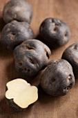 Peruvian potatoes (Papa Negra)