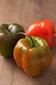 Three Rocoto chilli peppers from Peru
