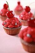 Cupcakes - cherry flavors