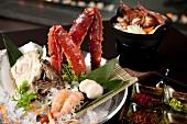 Japanische Meeresfrüchteplatte
