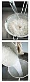Reis waschen
