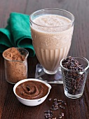 Cacao in Assorted Forms with a Cacao Smoothie