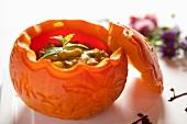 Curry Seafood Pumpkin Bowl