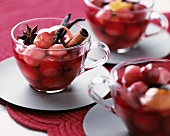Spiced cherry soup