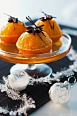 Tangerine soup with vodka for Christmas dinner