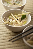 Chicken soup with lemongrass (Asia)