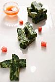 Eierstich mit Gemüse (China)