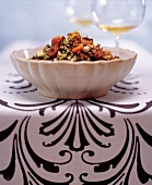 Wild Rice, Dried Apricots, and Toasted Pecan Salad
