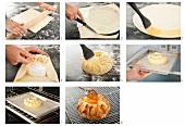 Brie im Teigmantel zubereiten