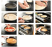 Steps for Making a Deep Dish Pizza