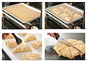 Making Oatmeal Scones