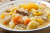 A Bowl of Cawl; Welsh Lamb Stew