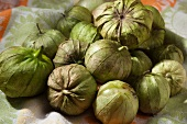 Many Fresh Tomatillos