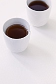 Two cups of tea