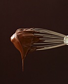 Melted Chocolate on a Whisk