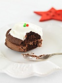 A Christmas whoopie pie