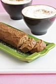 Chestnut log