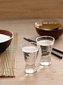 Warm sake shooters
