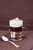 Einspänner (Viennese coffee speciality)
