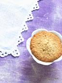A mini lilac cake