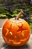 Jack-o-Lantern with Star Shaped Eyes