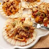 Casquinha de siri (seafood dish, Brazil)