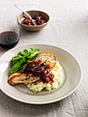 Chicken with caramelized onions
