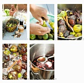 Preparare i fichi al balsamico (Balsamicofeigen zubereiten)