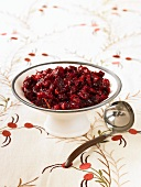 Cranberry Sauce with Ladle