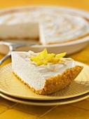 Pineapple Dream Pie (pineapple and cream cake)