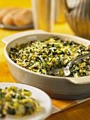 Broccoli and cheese bake