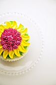 Flower Cupcake; From Above