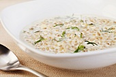 Creamy Barley Soup