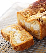 Apple Cheese Stuffed Strudel Loaf